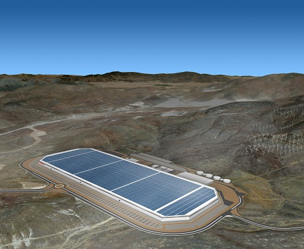 integrated technology for electrical car gigafactory (Nevada)