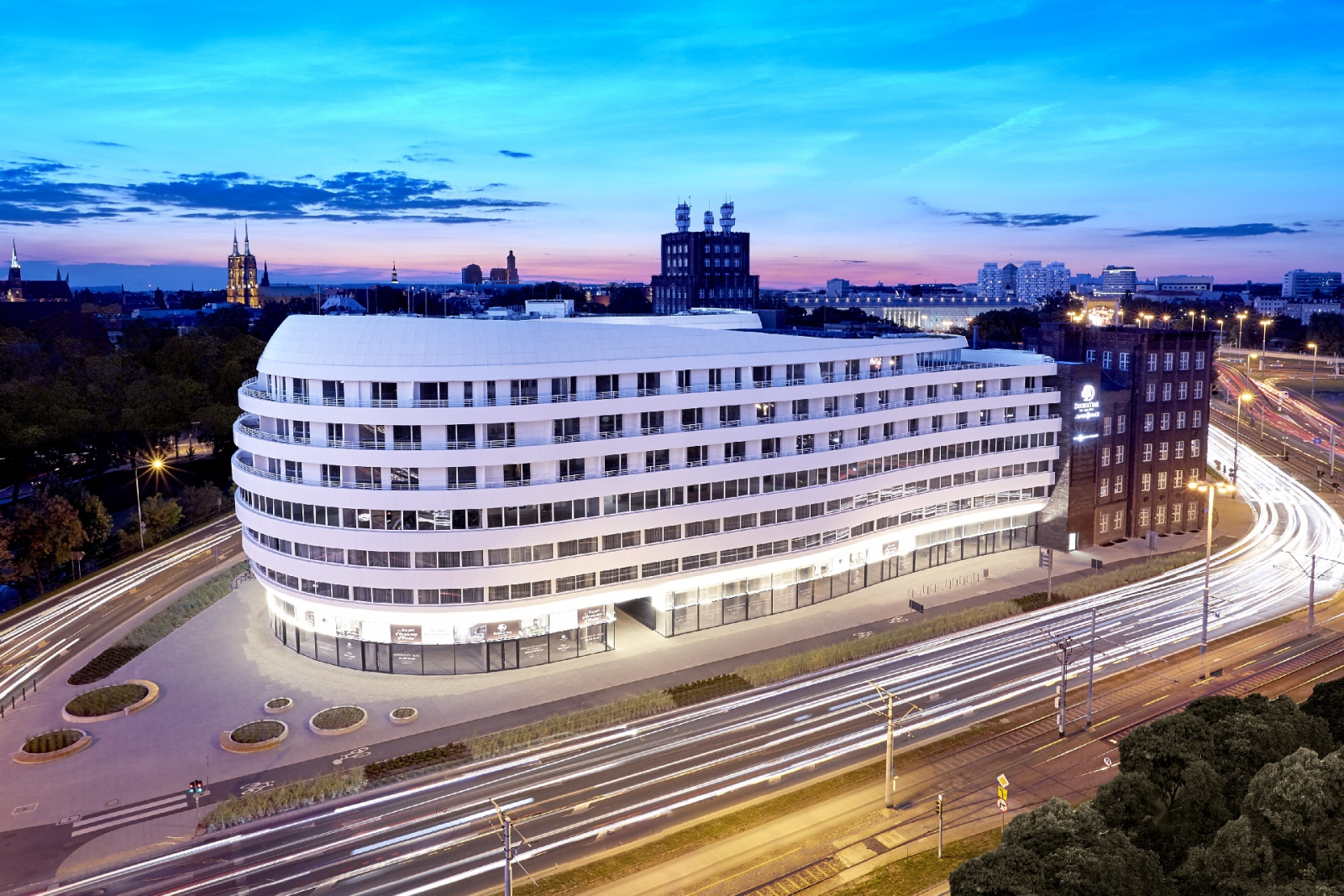 thermal solution for OVO Wroclaw building (Poland)