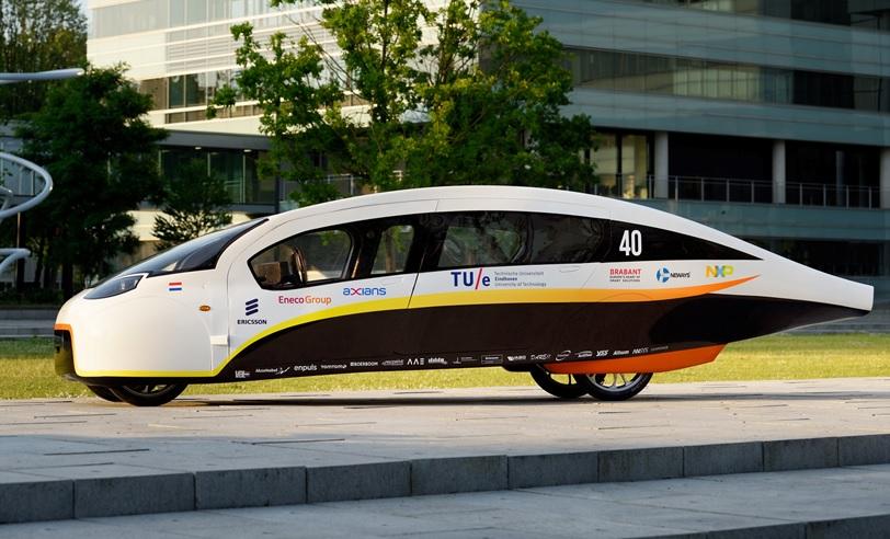 sponsoring winning solar car