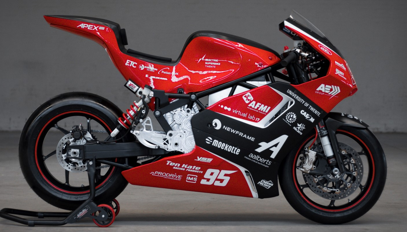 sharing expertise to help create a superbike